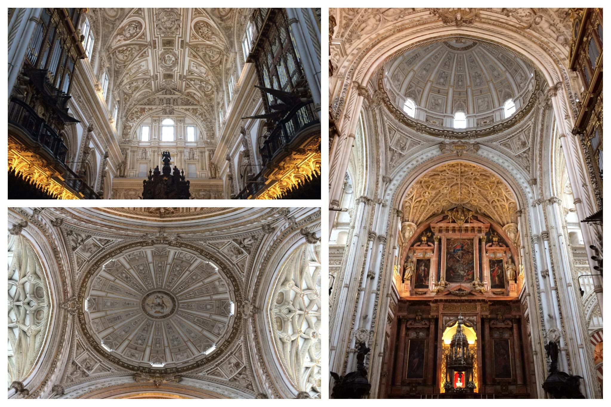 Córdoba Mesquita Mosque-Church baroque interior