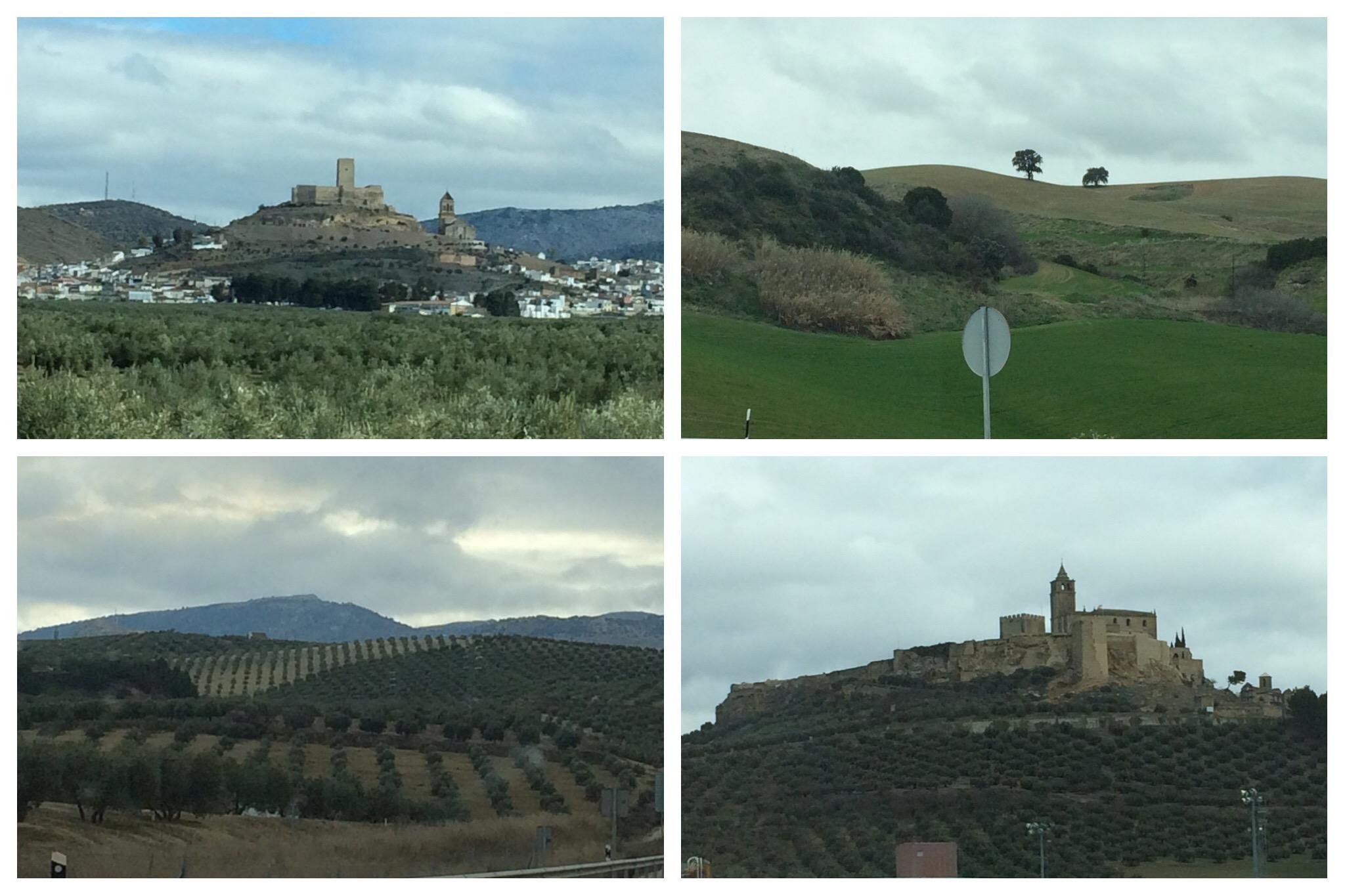 Córdoba countryside Alcaudete Alcalá la Real