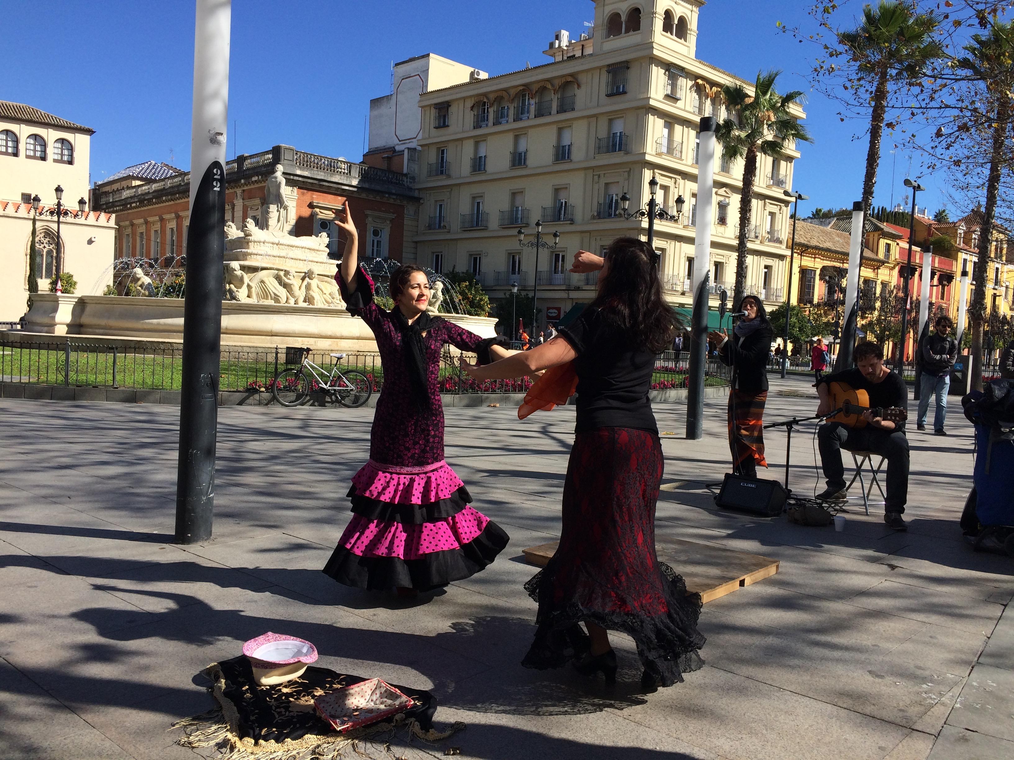 Seville - Flammenco dancing