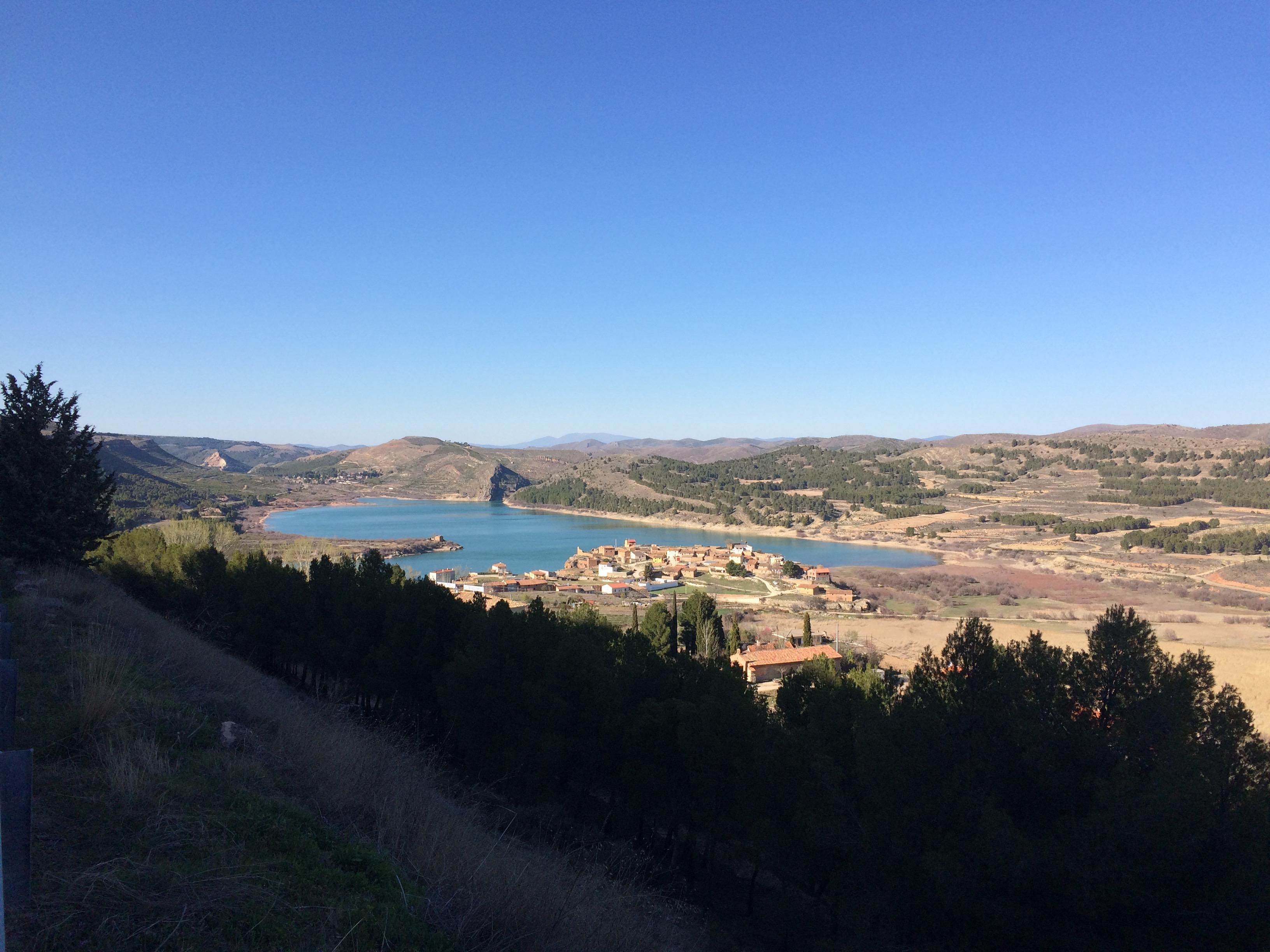 Nuevalos La Tranquera Reservoir