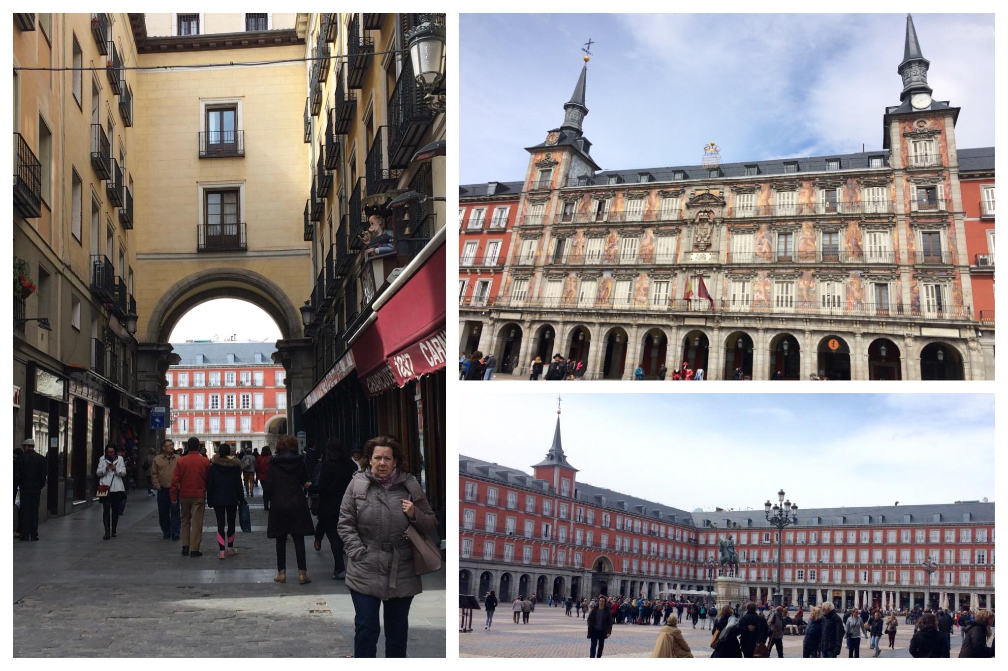 Madrid Plaza Mayor Royal Bakery