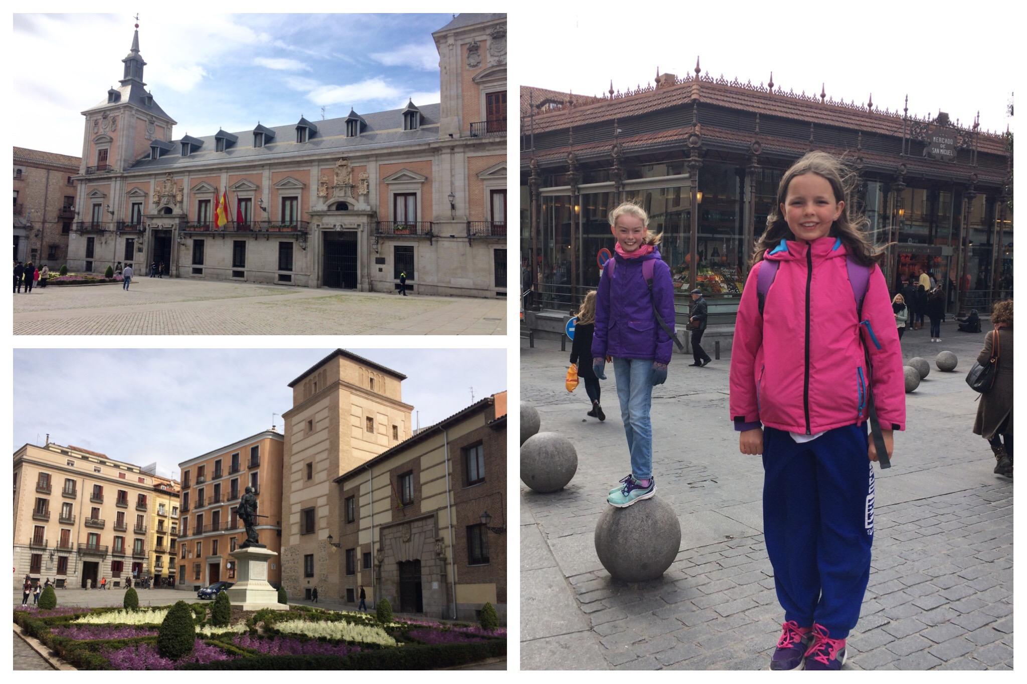 Madrid Plaza de la Villa Mercado de San Miguel