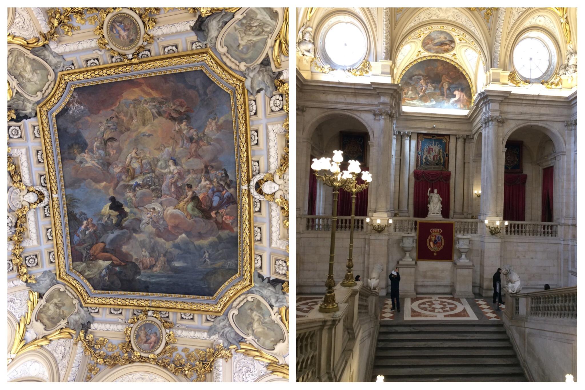 Madrid Royal Palace Palacio Real Main Stairway