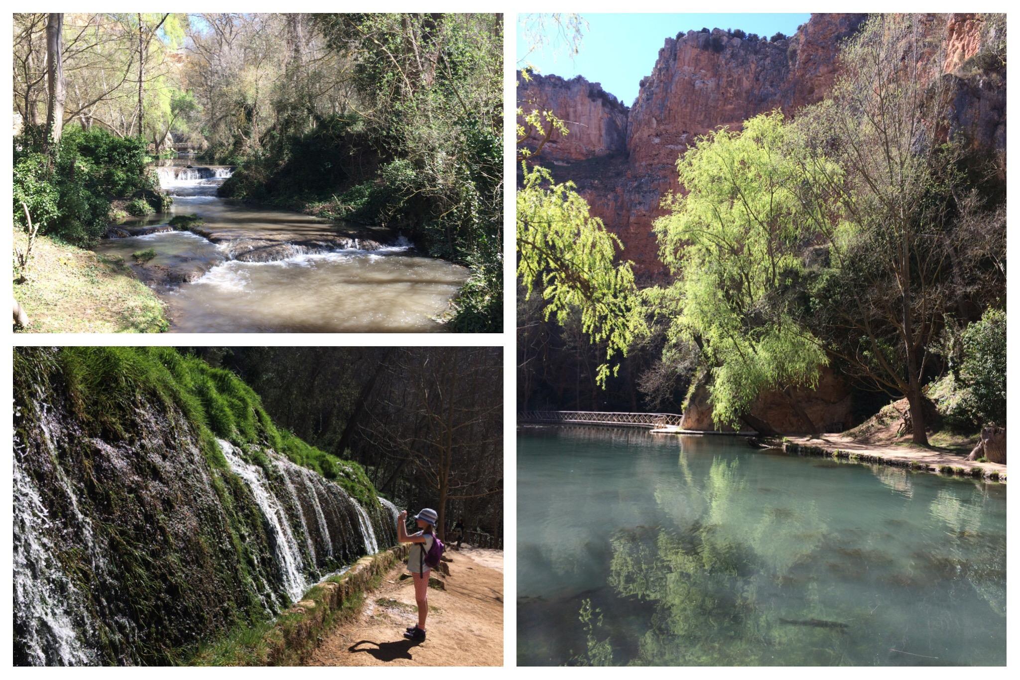 Monasterio de Piedra waterfalls and ponds