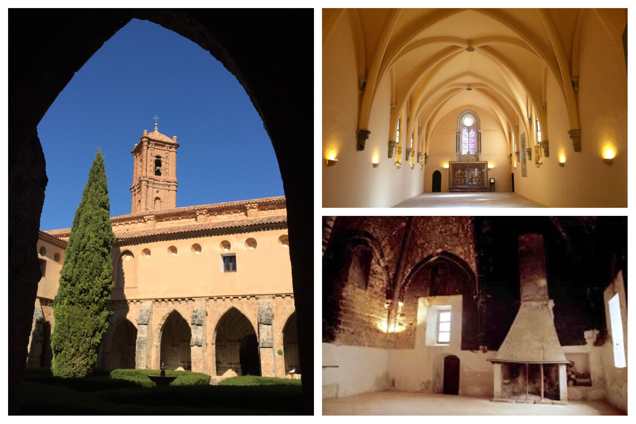 Monasterio de Piedra refectory kitchen
