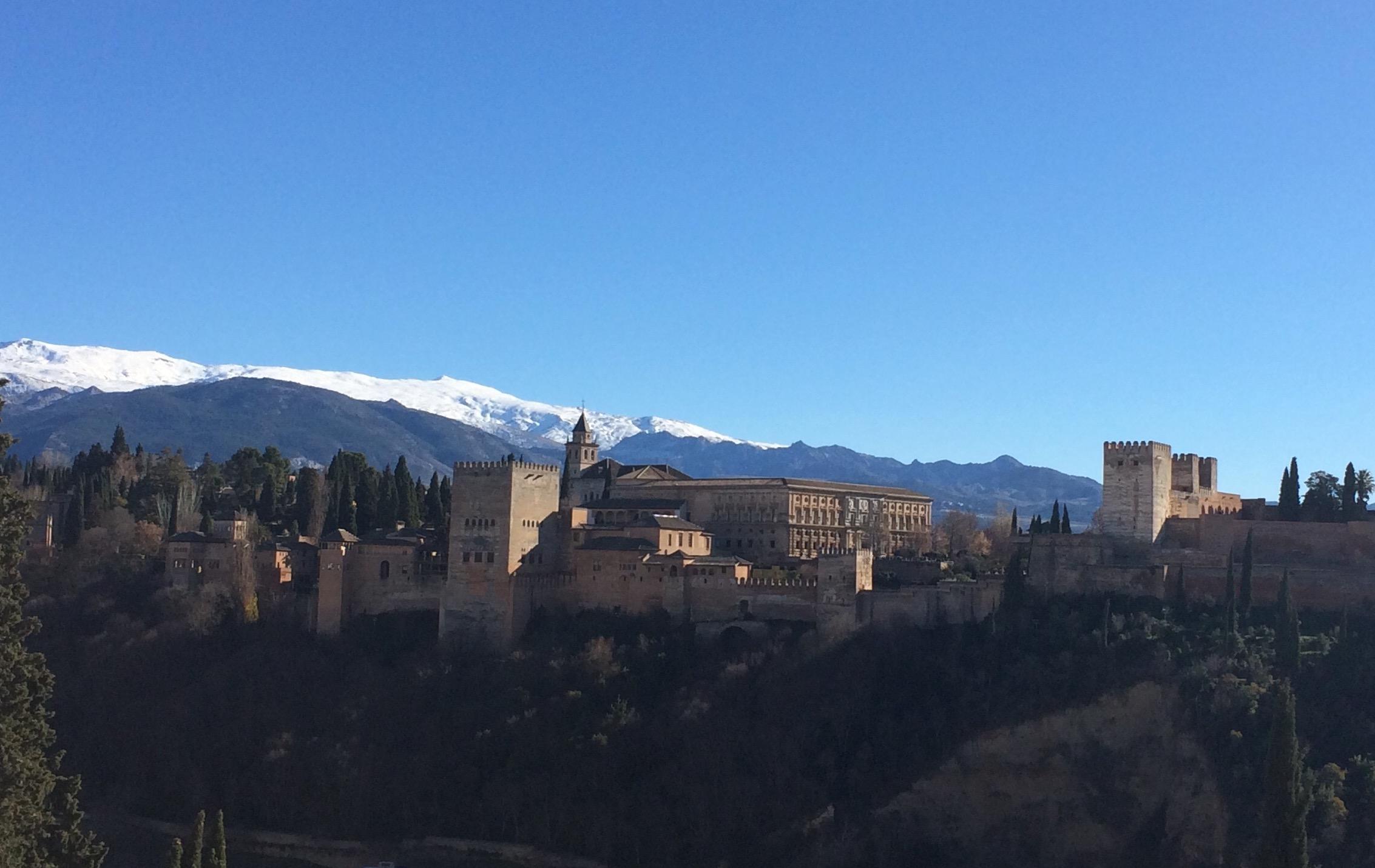 Granada Mirador St Nicholas Alhambra view