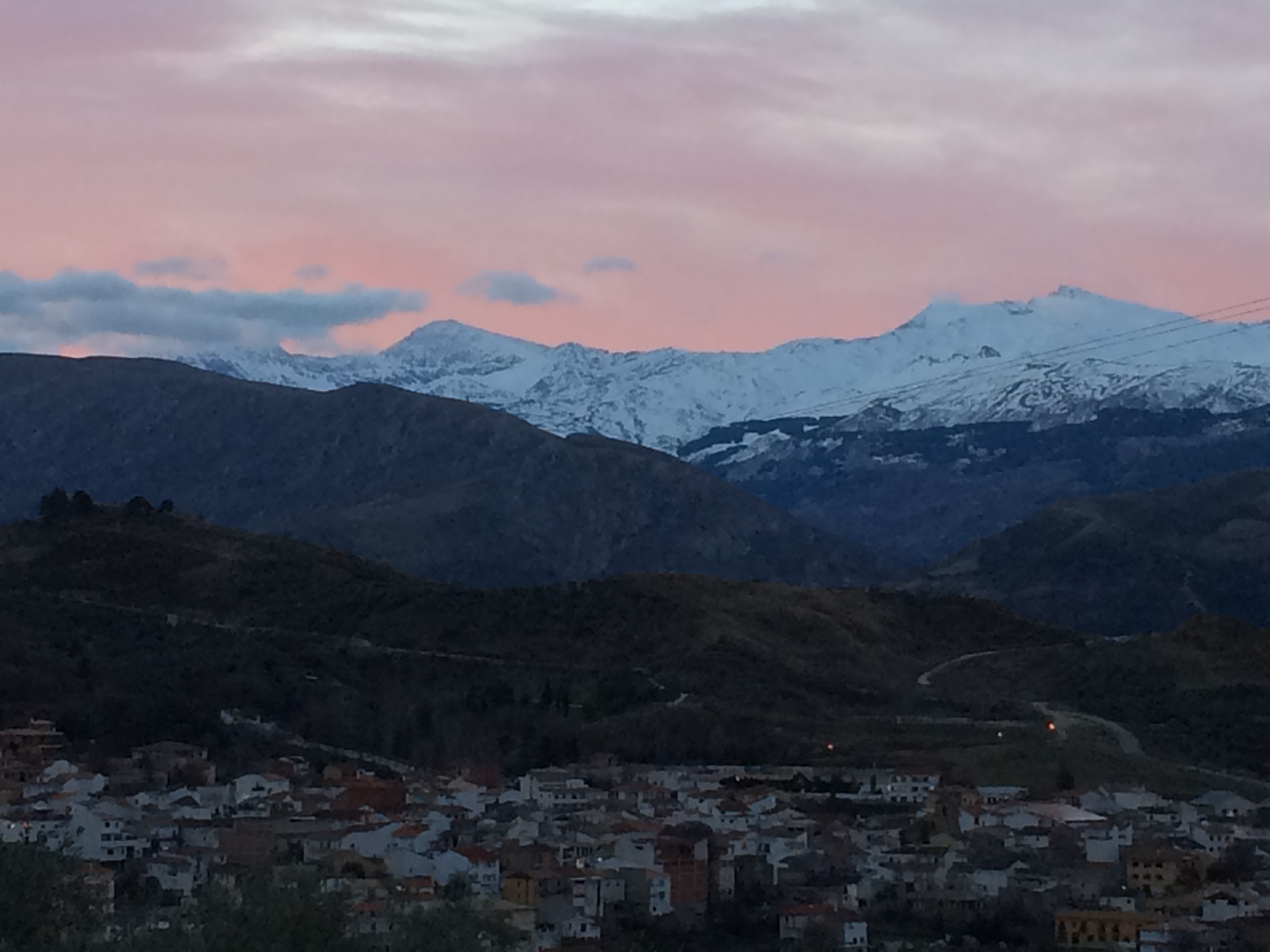 Beas de Granada sunrise