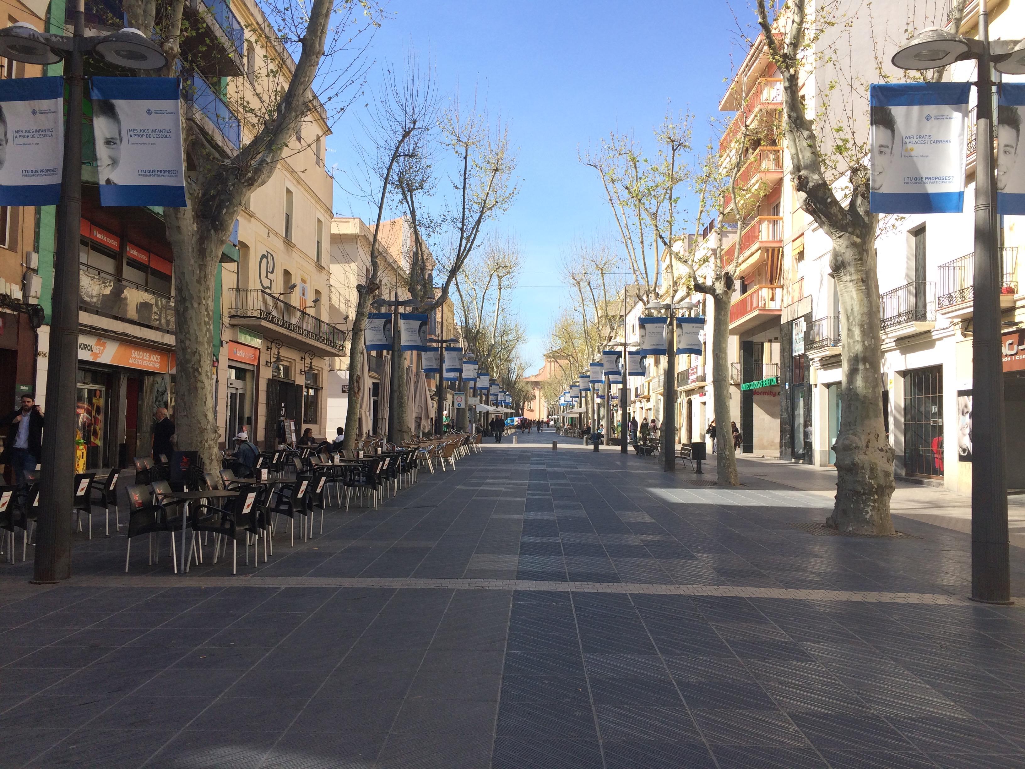 Vilanova i la Geltrú Rambla Principal