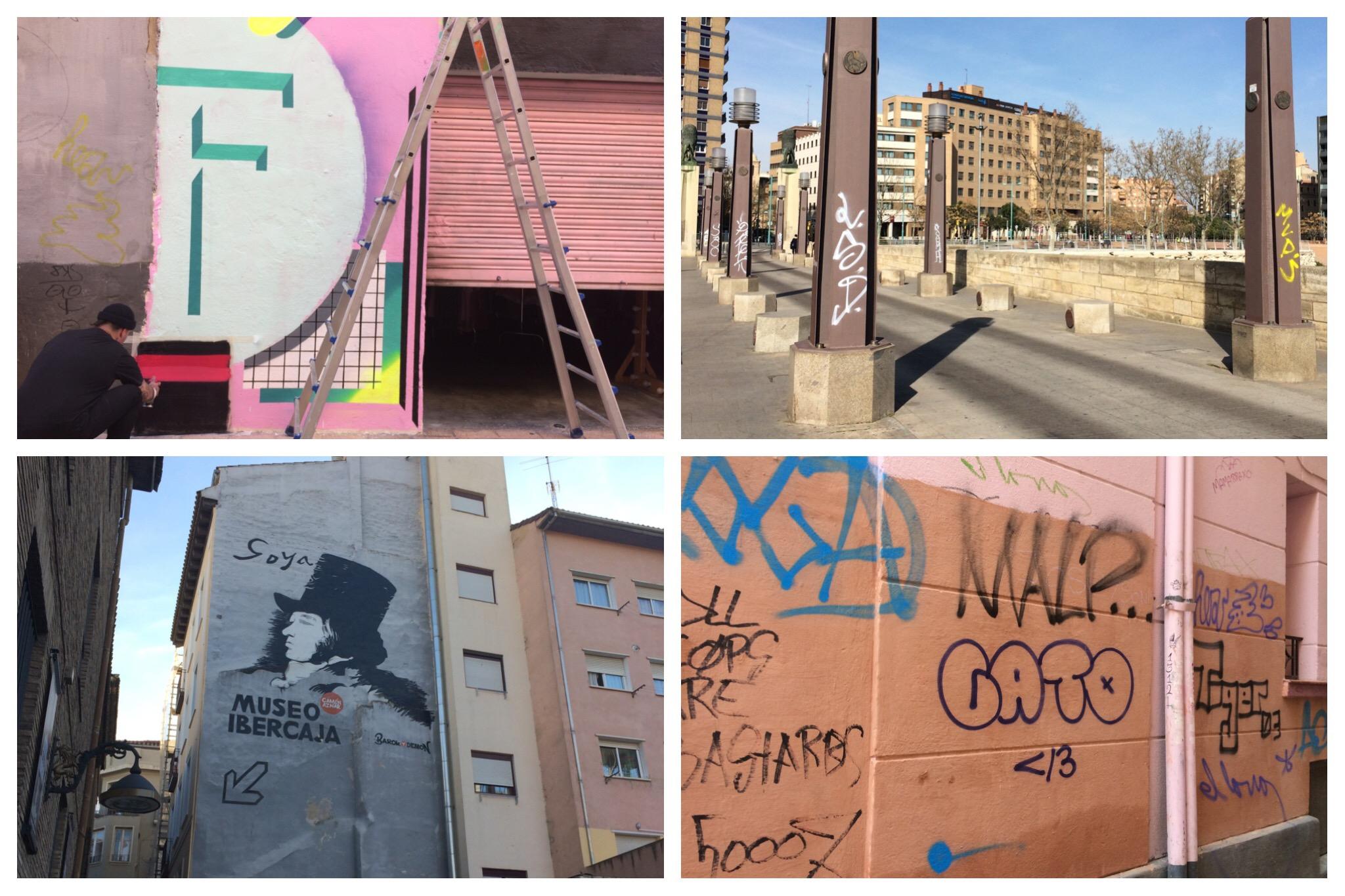 Zaragoza graffiti