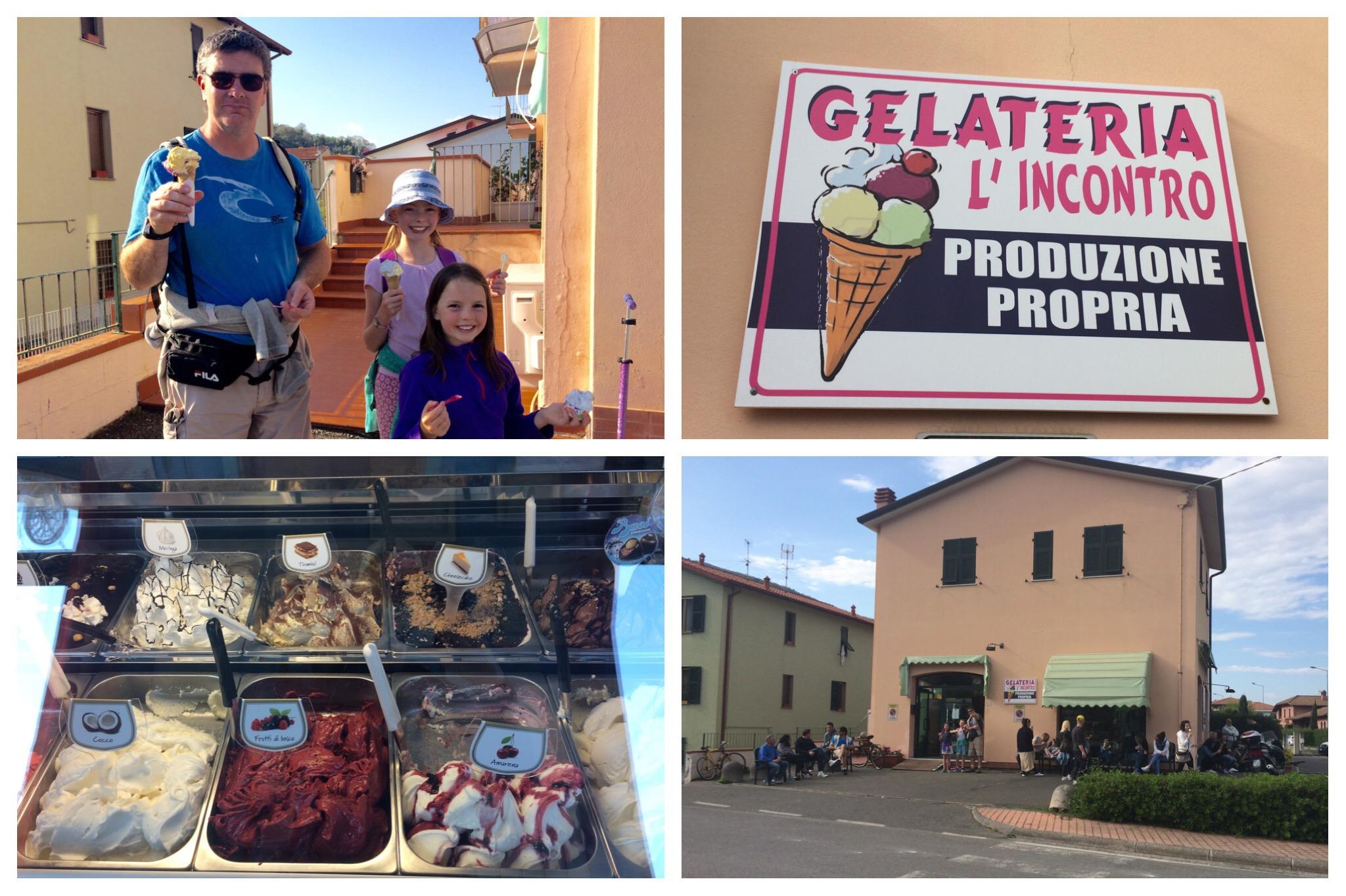 Liguria - Ameglia Gelateria L'Incontro