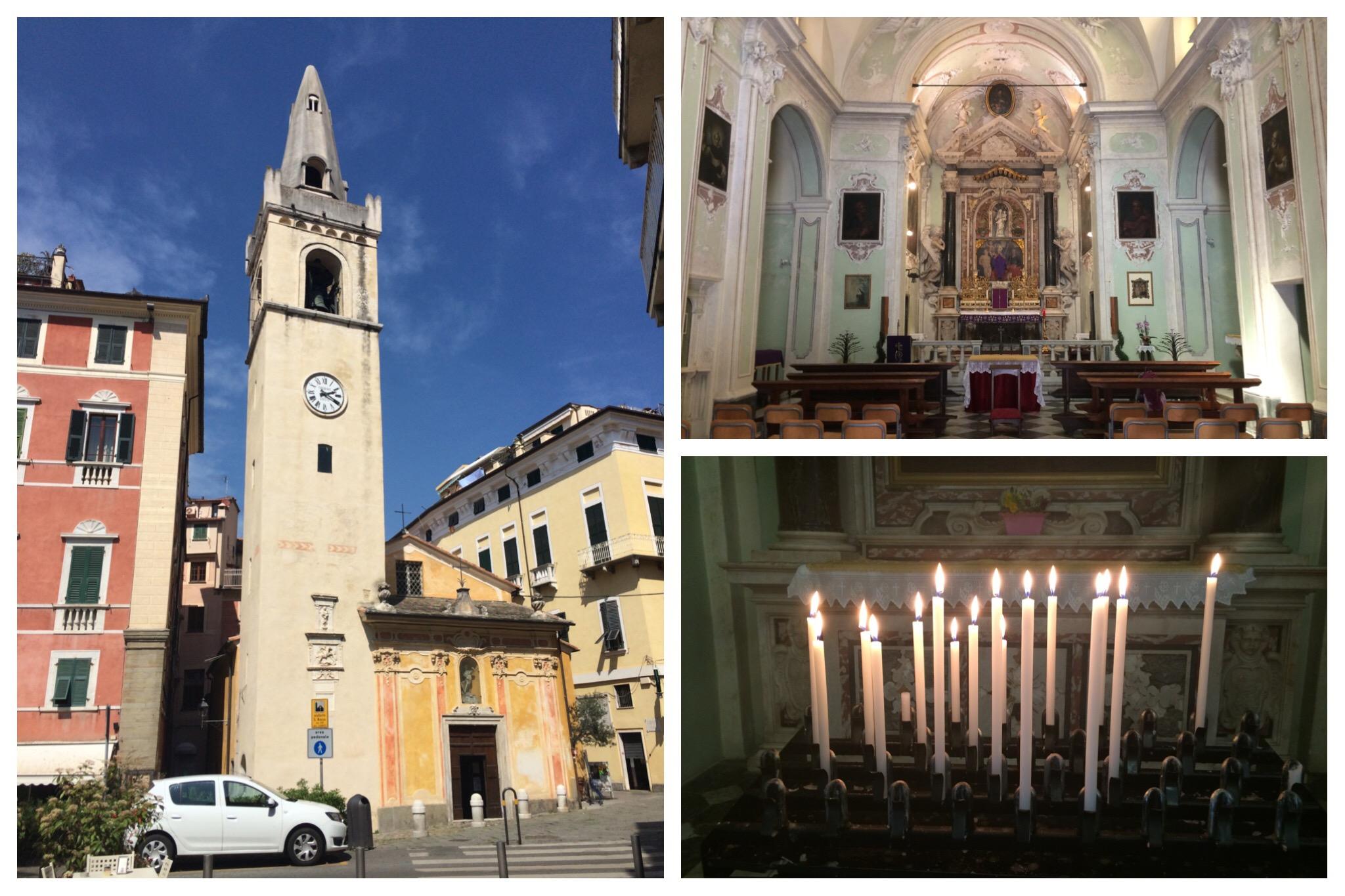 Liguria - Lerici San Rocco chapel
