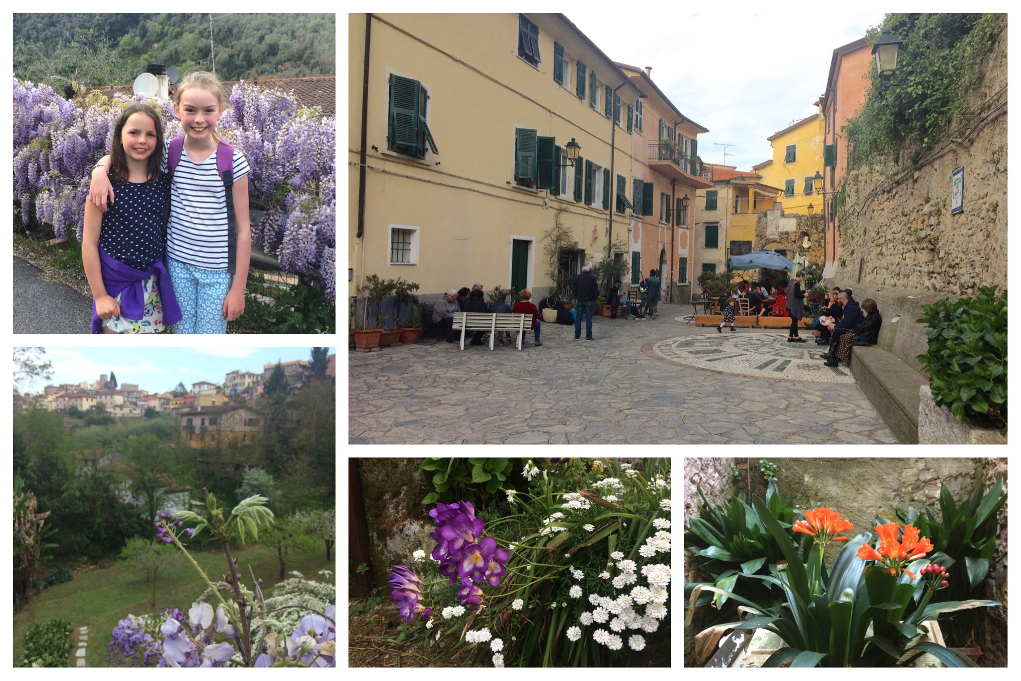 Liguria - Ameglia Piazza della Libertà