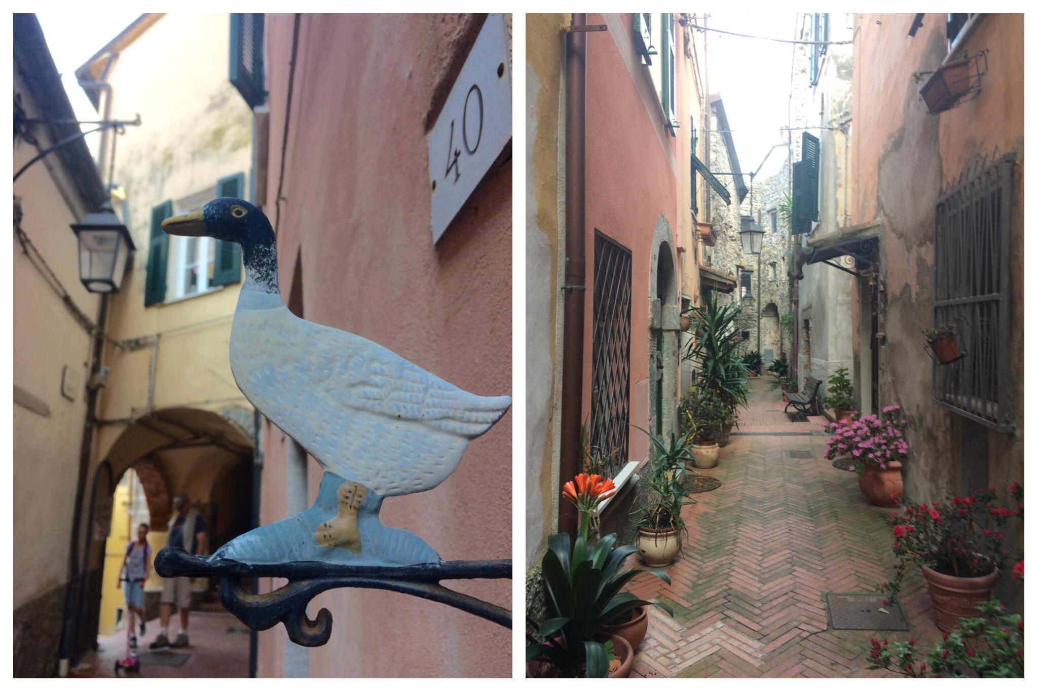 Liguria - Ameglia old town narrow streets