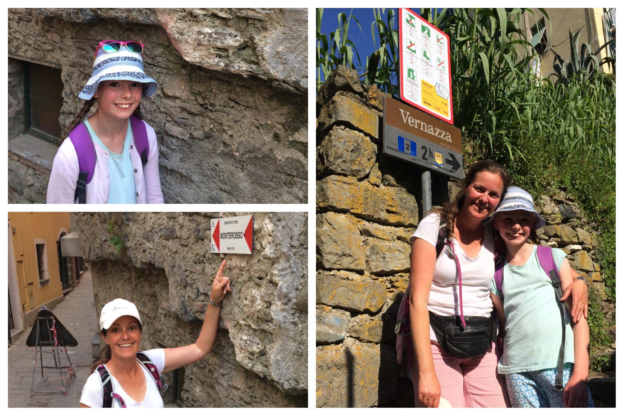 Cinque Terre walk Vernazza to Monterosso
