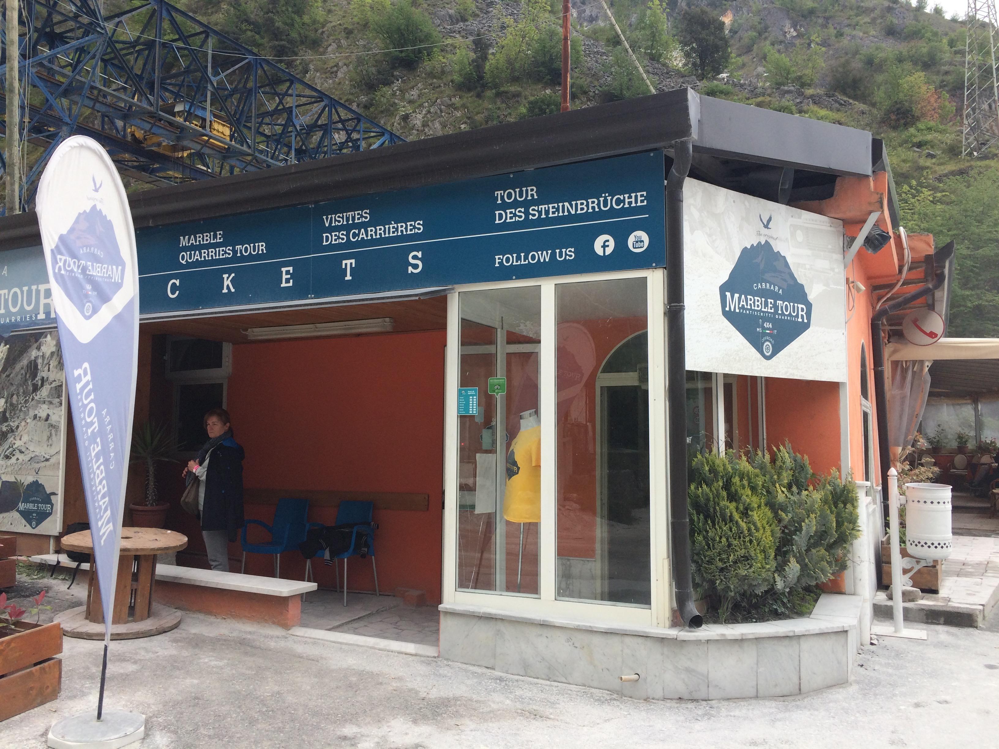 Carrara Marble Quarries Fantiscritti Carrara Marble Tour office