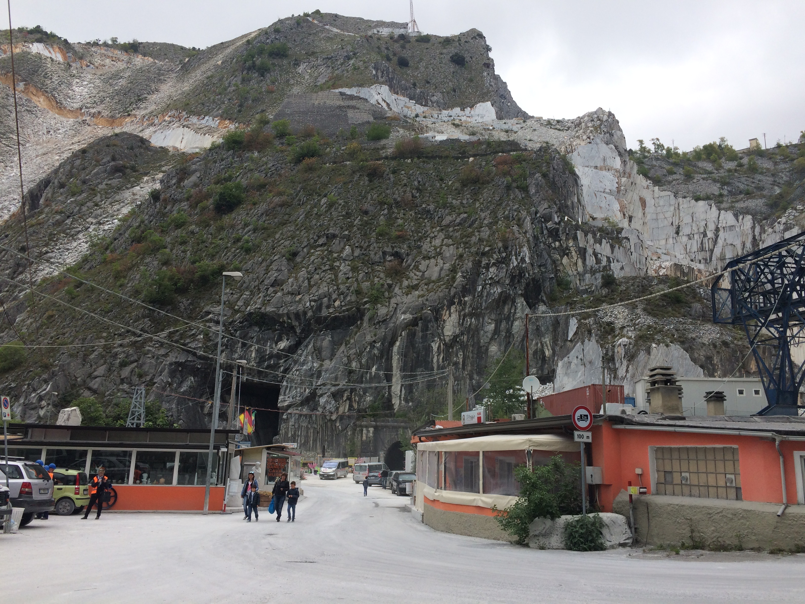 Carrara Marble Quarries Fantiscritti