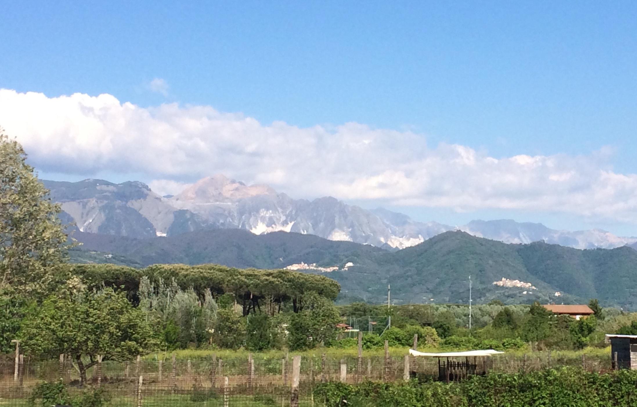 Carrara Marble Quarries Apuan Alps Italy