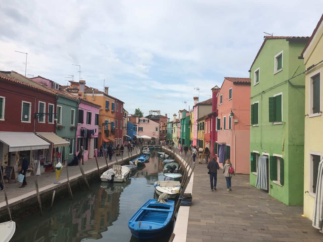 Burano colourful streets