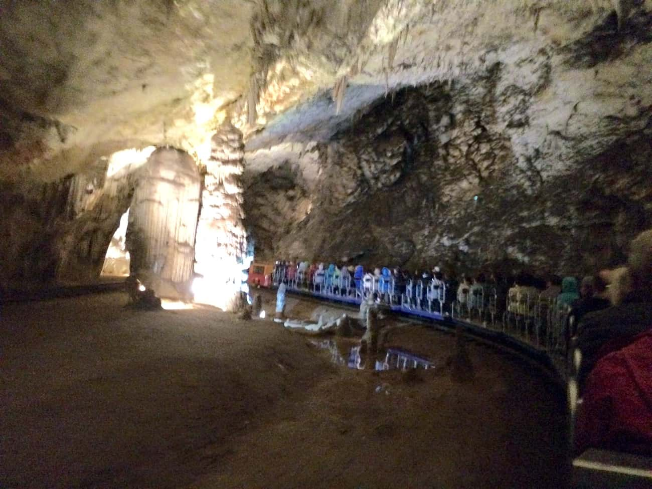 Slovenia Postojna Caves train ride