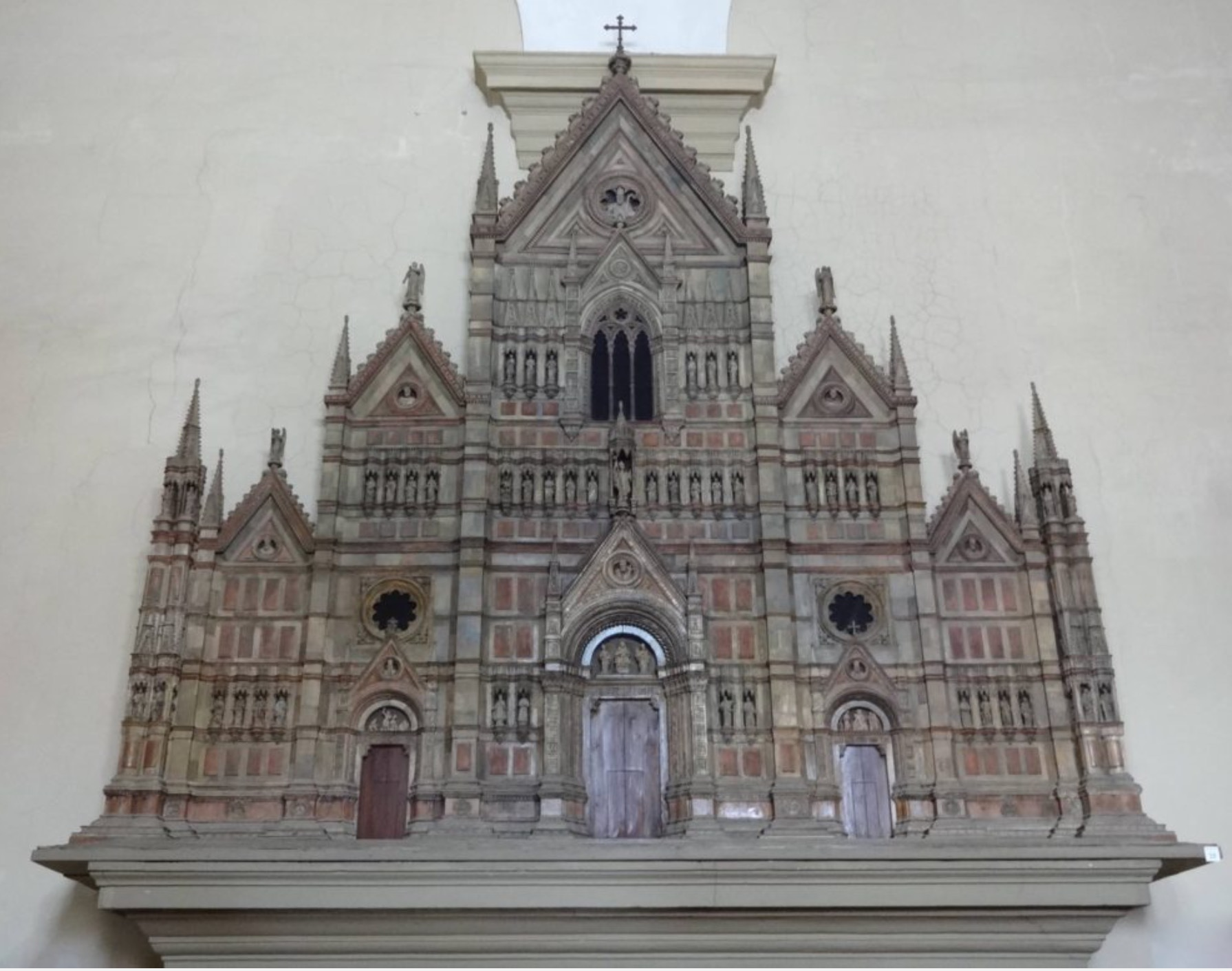 Bologna - San Petronio cathedral model