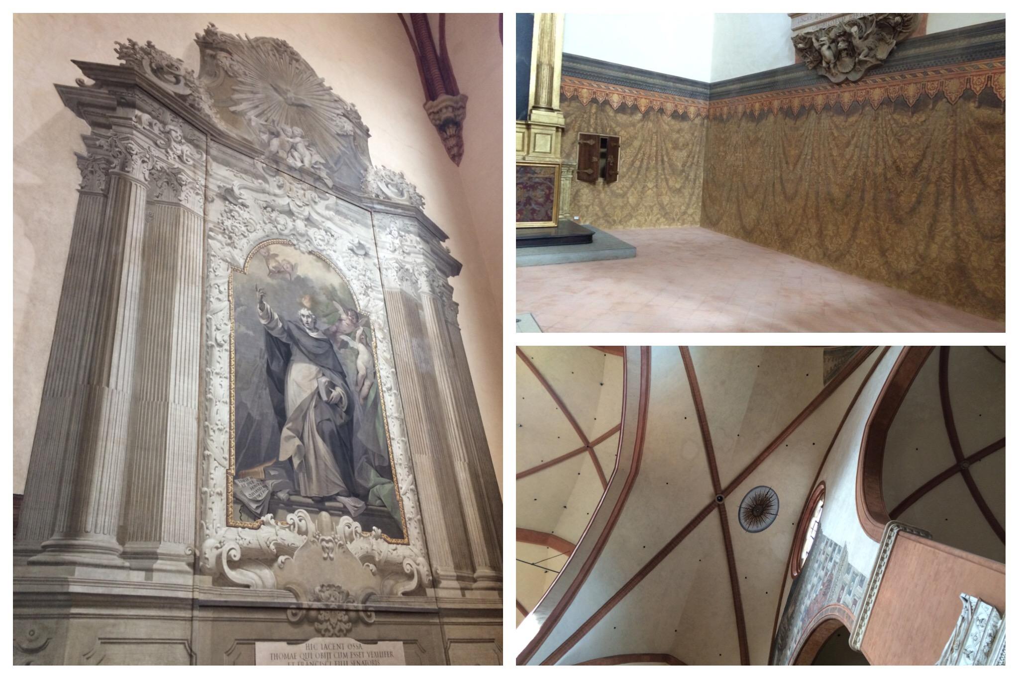 Bologna - inside San Petronio Cathedral