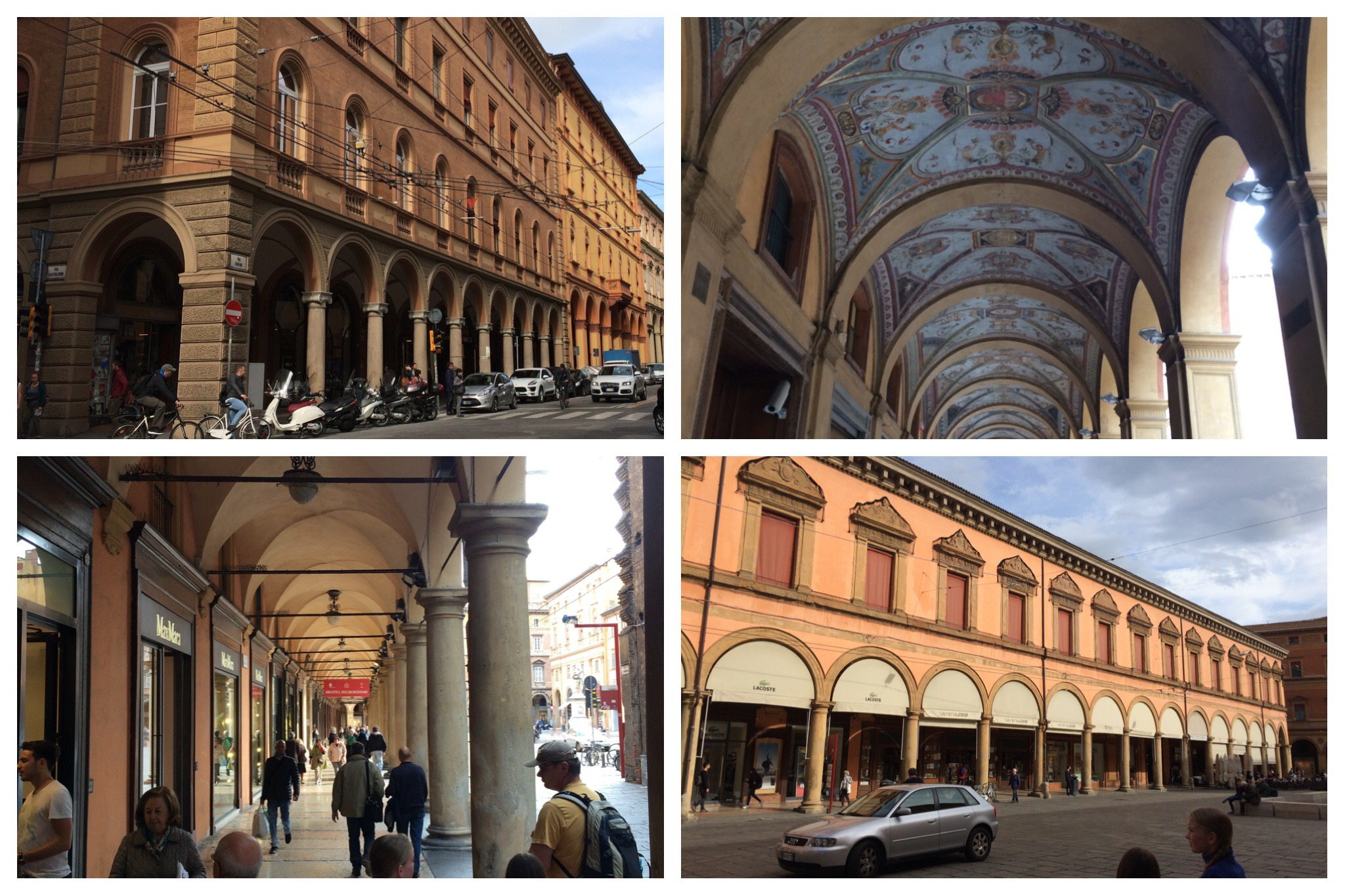 Bologna - porticos