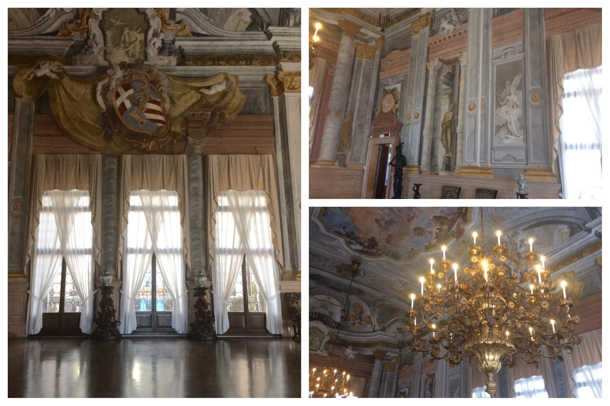 Venice Ca' Rezzonico Ballroom Trompe L'oeil