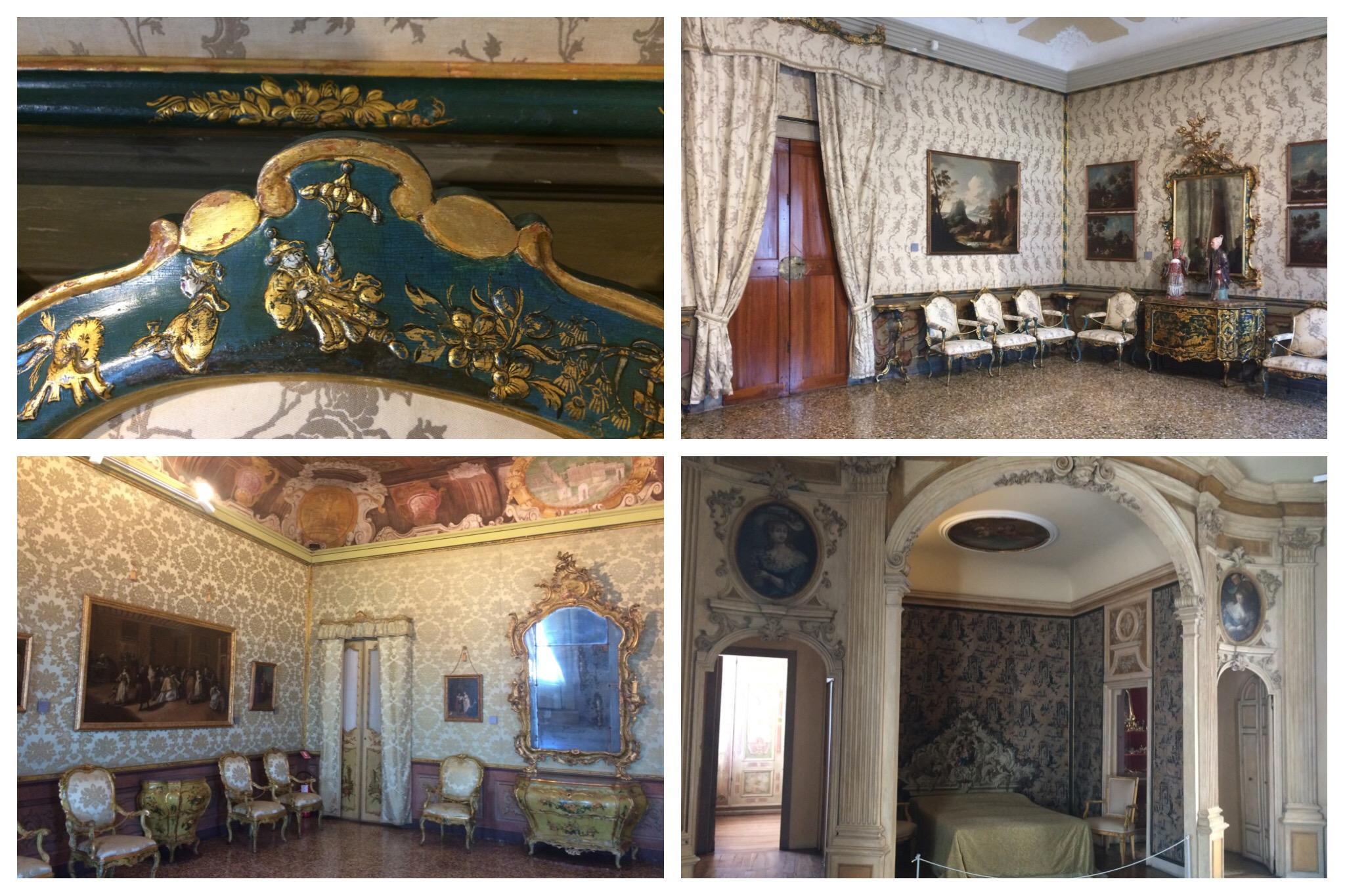 Venice Ca' Rezzonico room details