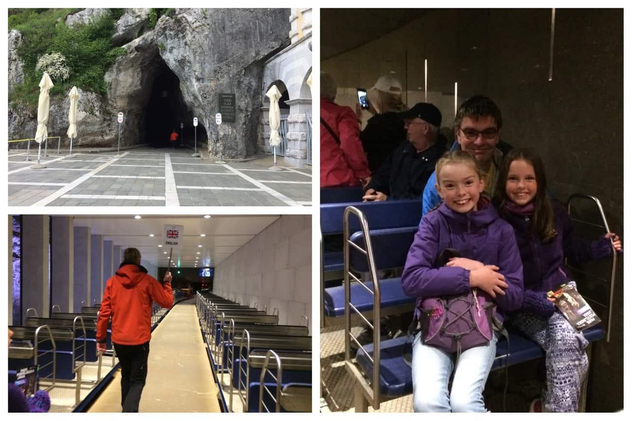 Slovenia Postojna Caves train ride guided tour