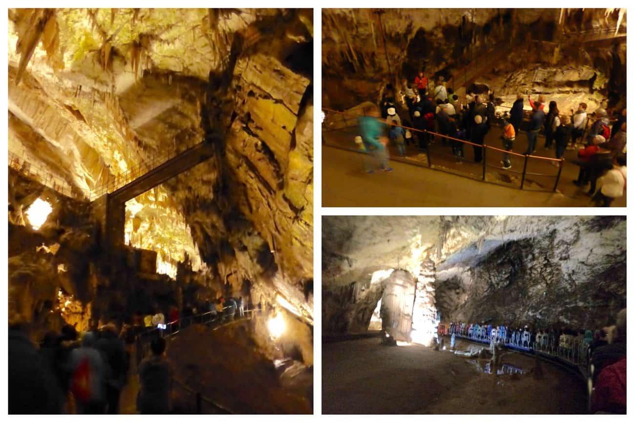 Slovenia Postojna Caves guided tour