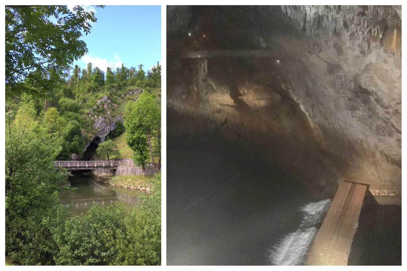Slovenia Postojna Caves Pivka River
