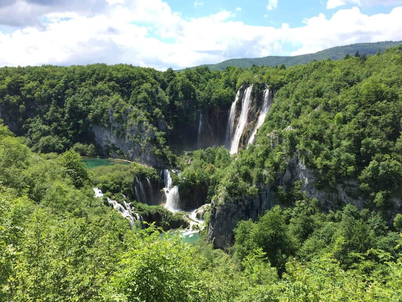 Croatia Plitviče Lakes Velika Slap Great Waterfall
