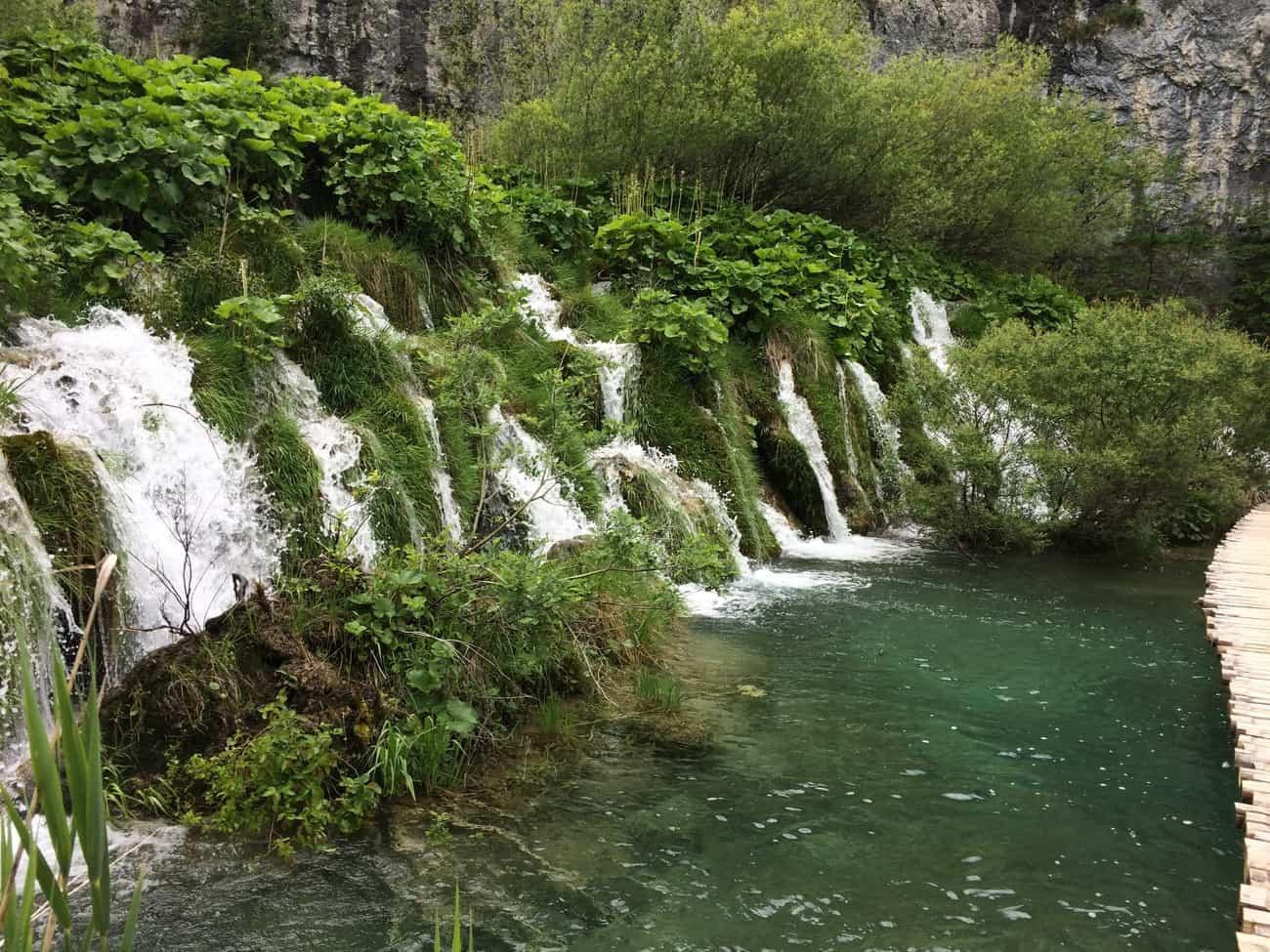 Croatia Plitviče Lakes Lower Lakes Great Cascades