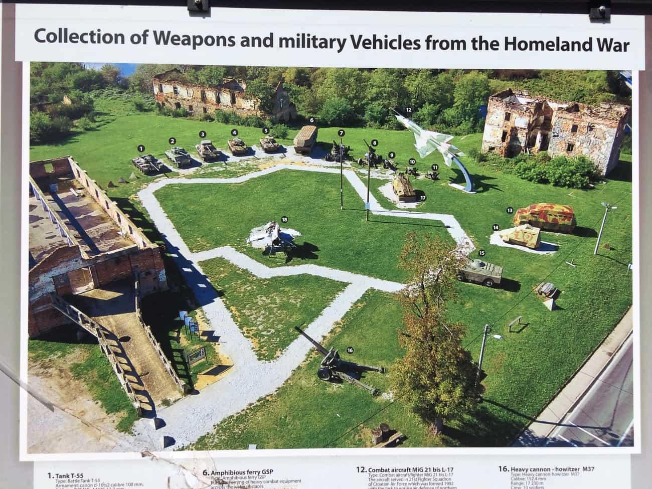 Croatia Karlovac Turanj Military Complex collection