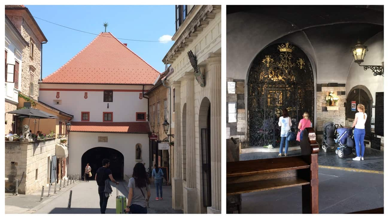 Zagreb Stone Gate and Chapel