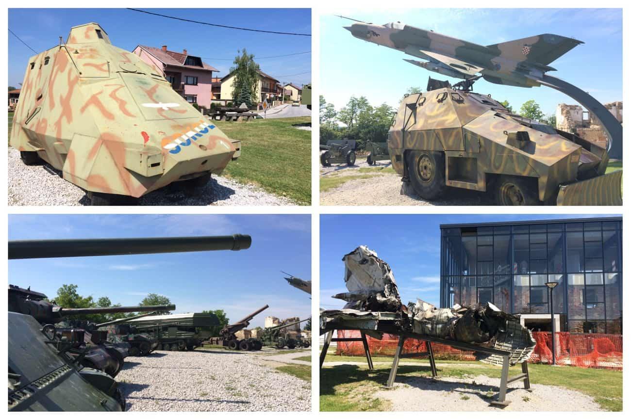 Croatia Karlovac Turanj Military Complex