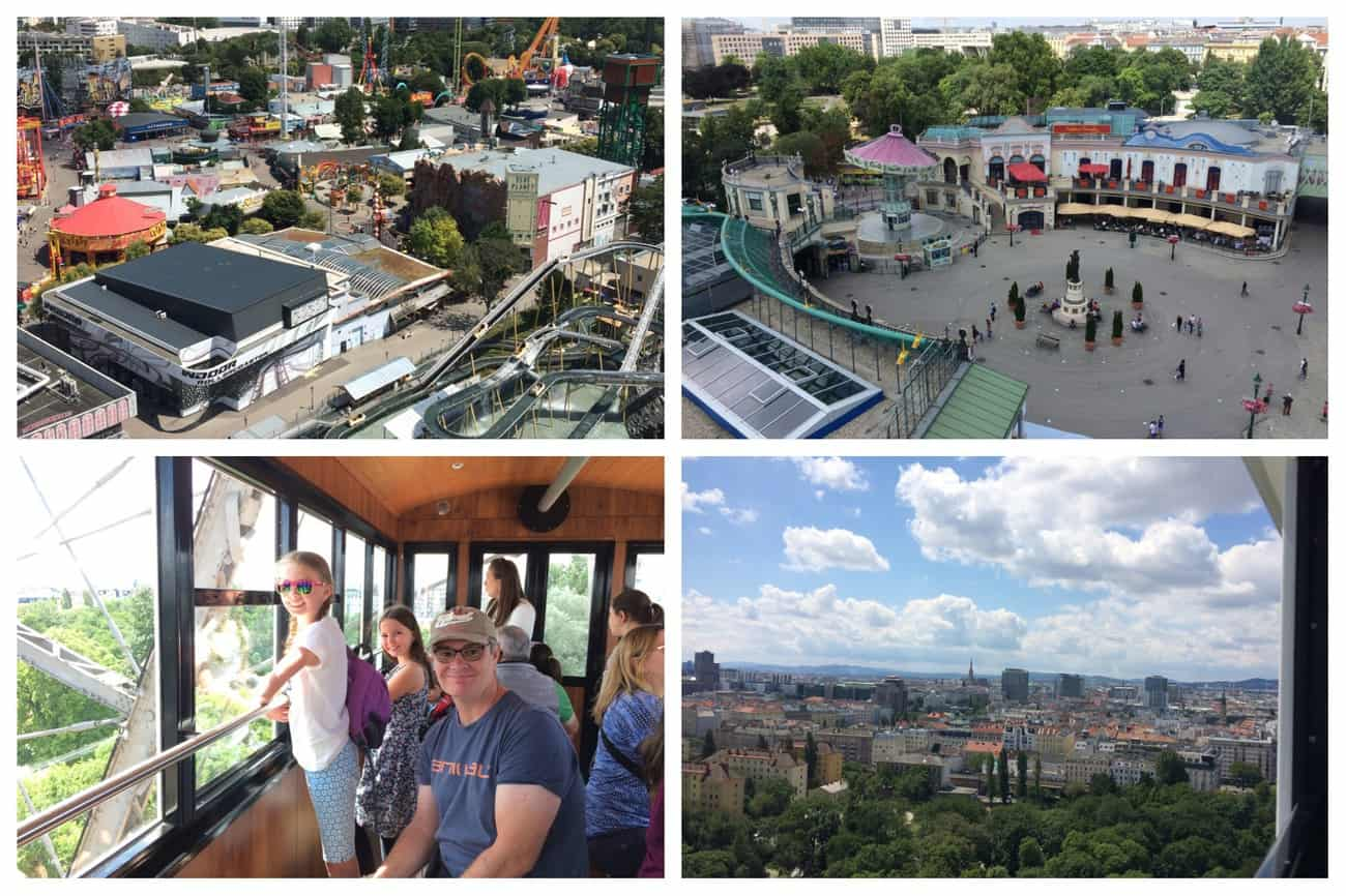 Austria Vienna Prater Giant Ferris Wheel Views