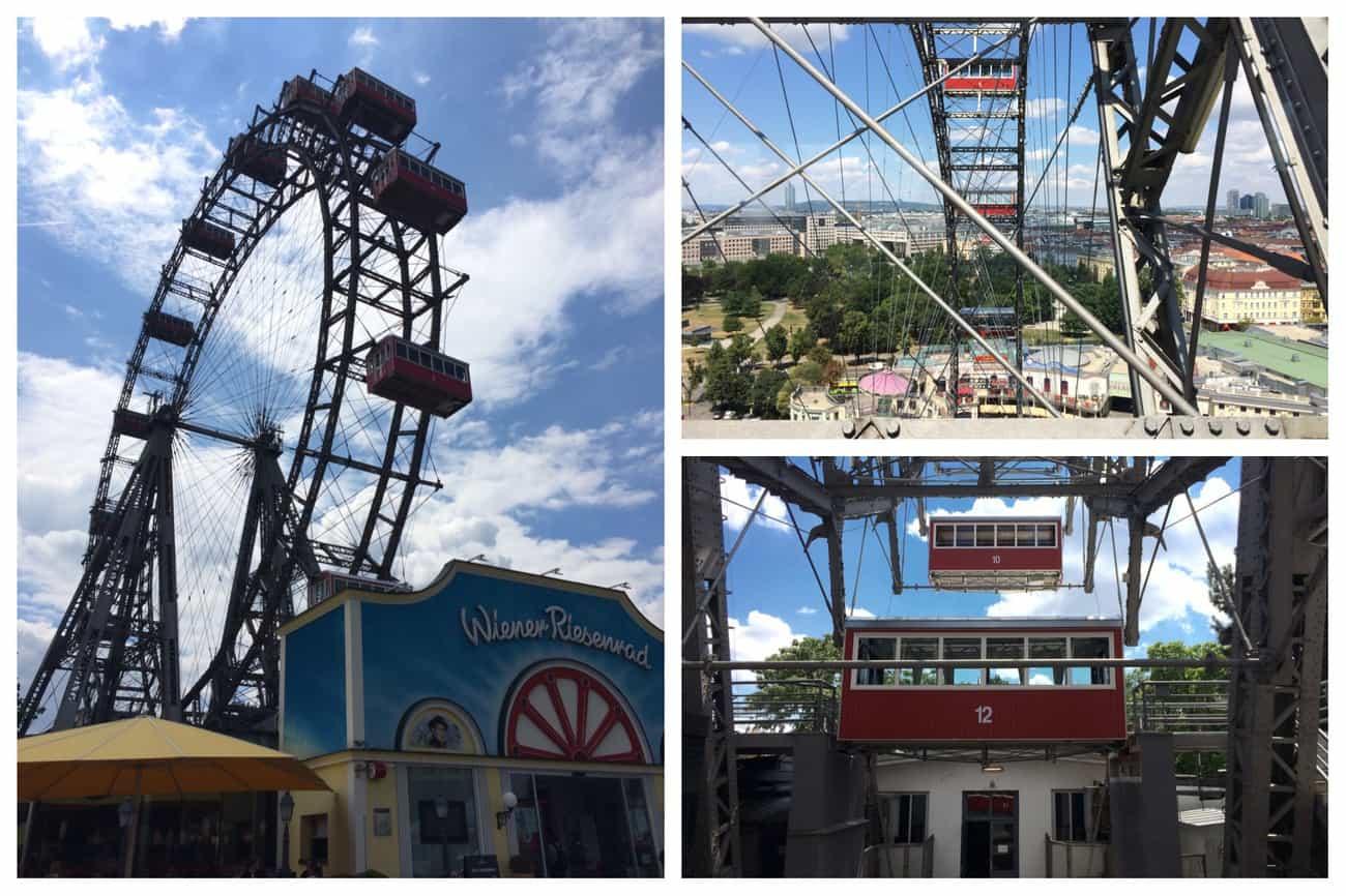 Austria Vienna Prater Park Giant Ferris Wheel