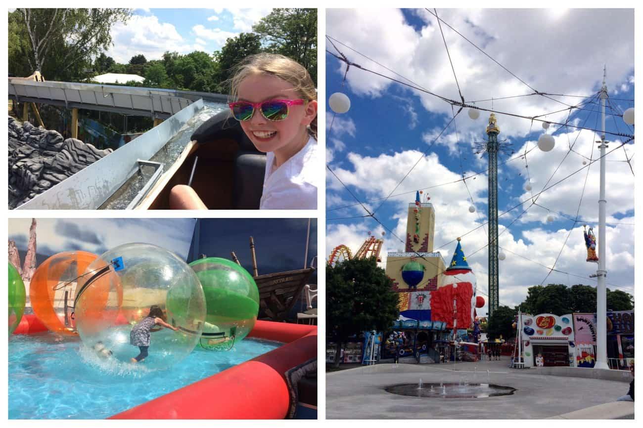 Austria Vienna Prater Park Rides