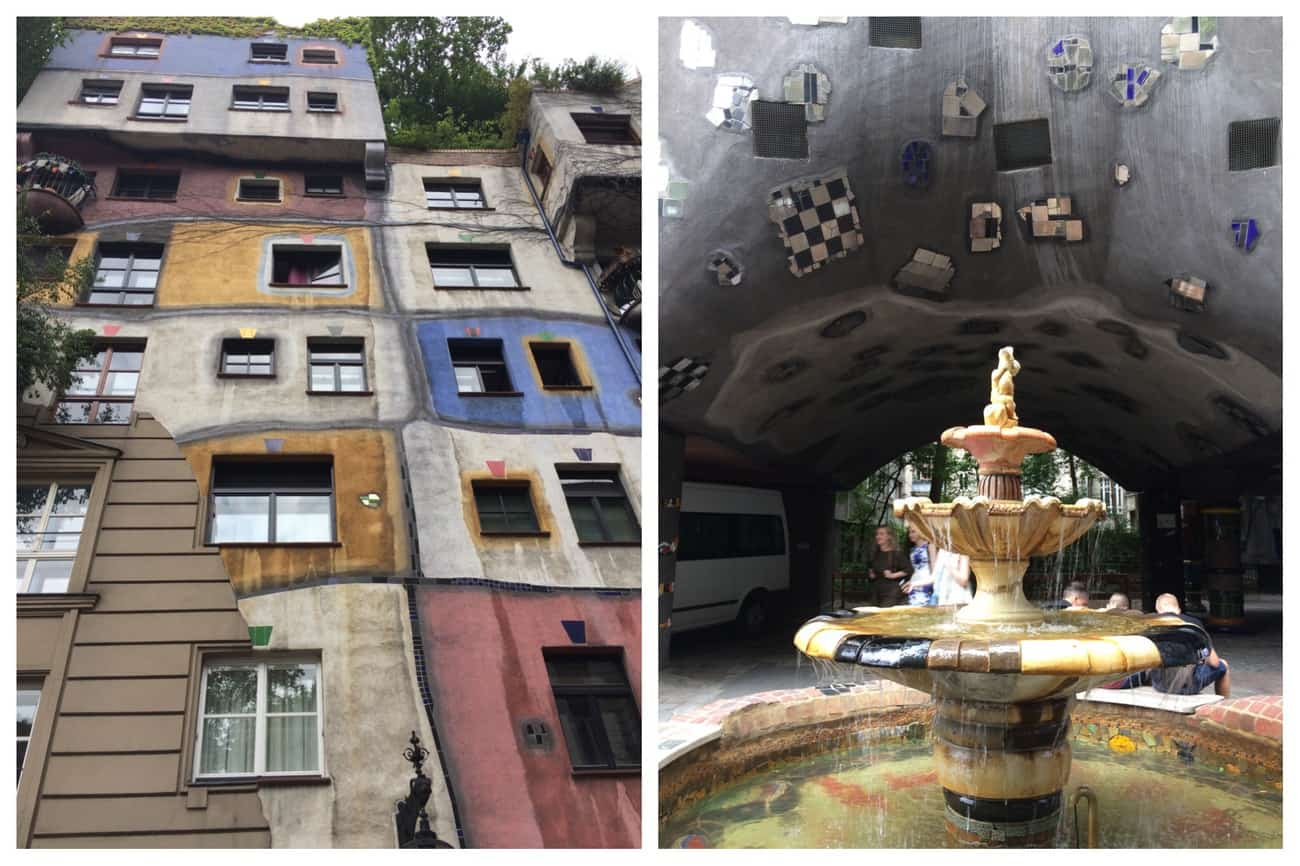 Austria Vienna Hundertwasserhaus