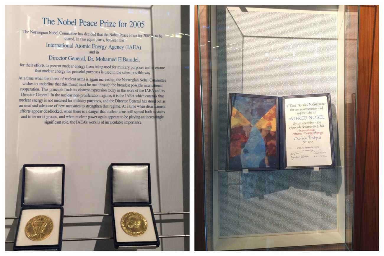 United Nations Vienna Tour Nobel Peace Prize IAEA