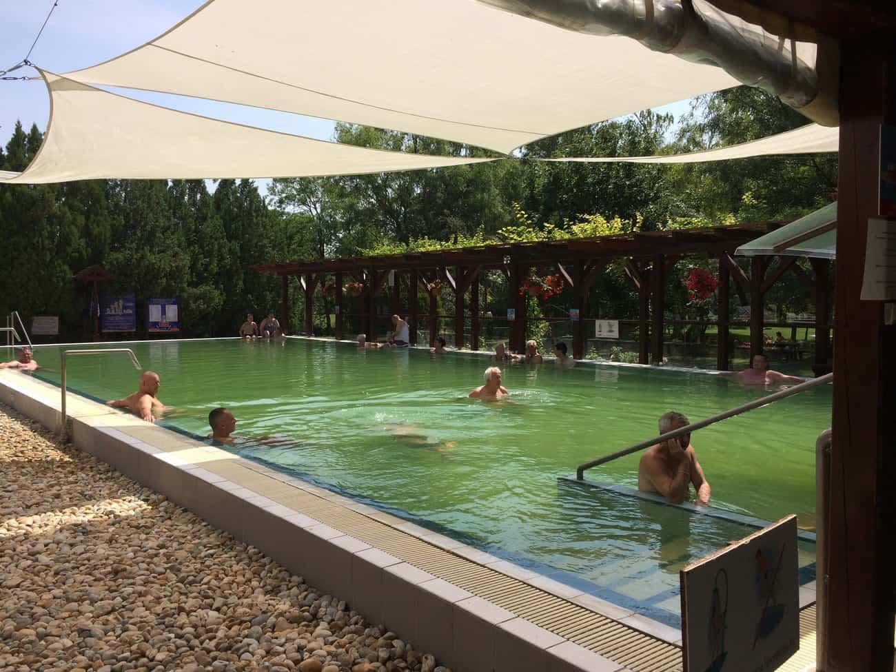 Hungary Lipót Thermal Bath and Spa Thermal Pool