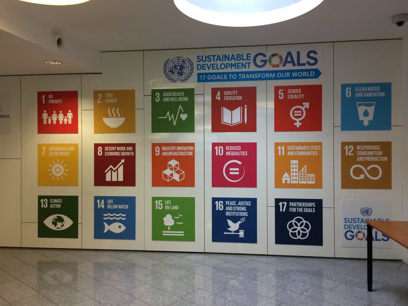 United Nations Vienna Tour Sustainable Development Goals
