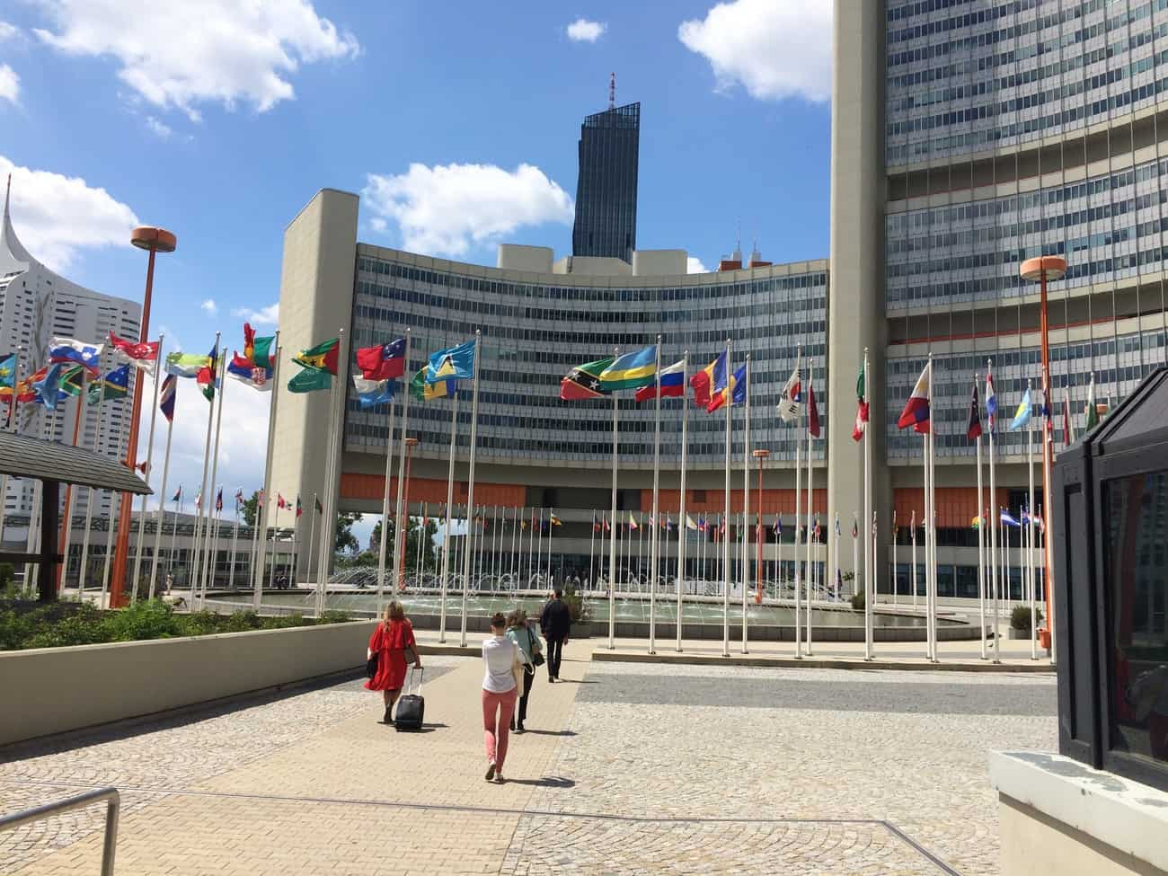 United Nations Vienna Tour Central Plaza