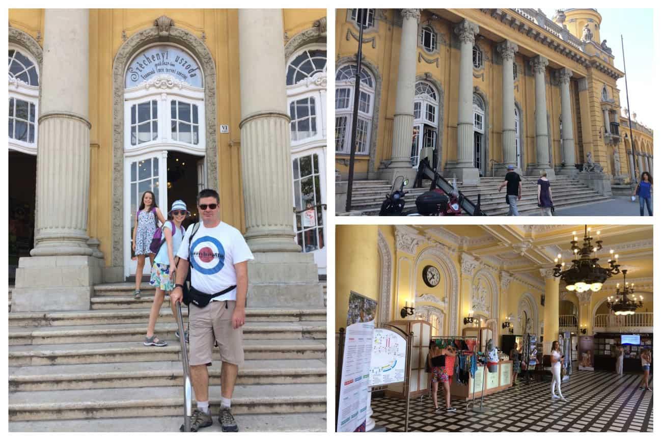 Budapest Széchenyi Baths Entrance