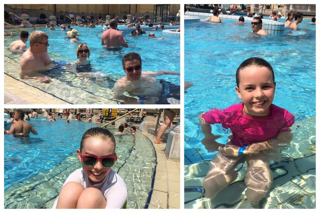 Budapest Széchenyi Baths outdoor whirlpool