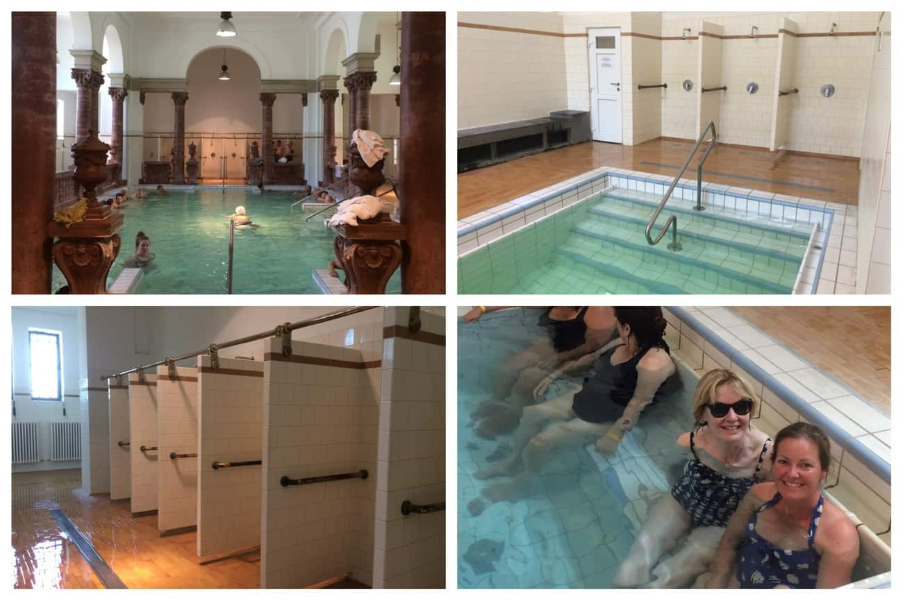Budapest Széchenyi Baths indoor pools