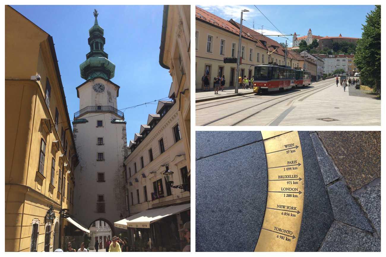Slovakia Bratislava Michael's Gate and Tower
