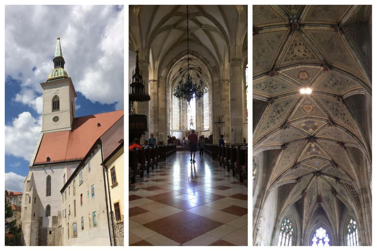 Slovakia Bratislava St Martin's Cathedral
