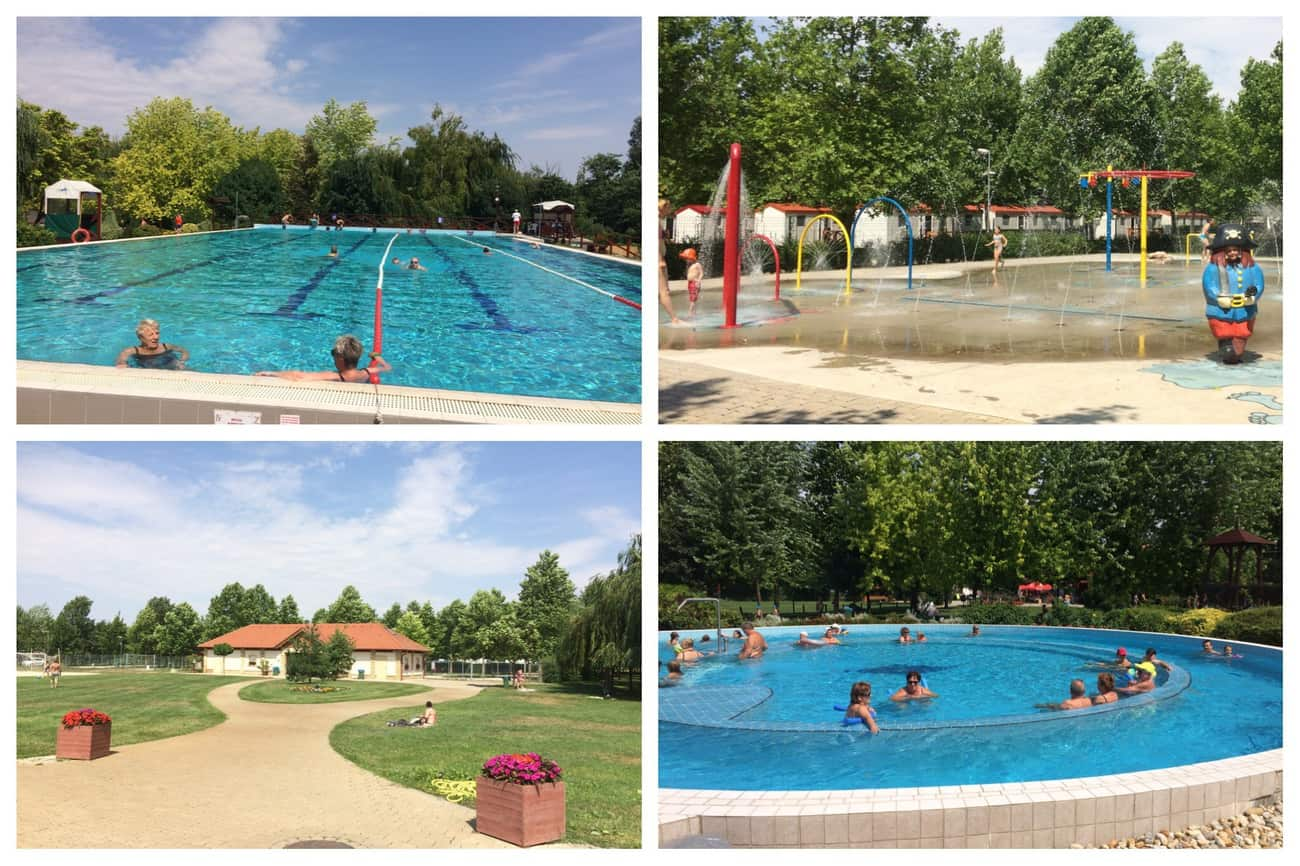 Hungary Lipot Thermal pools